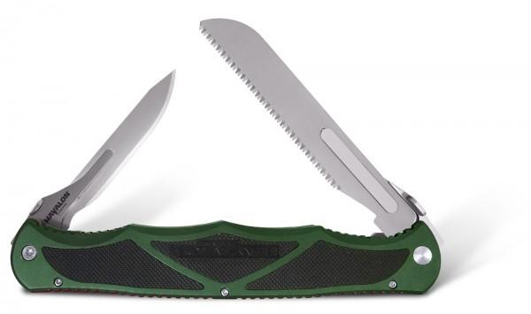 Havalon Hydra Green Taschenmesser