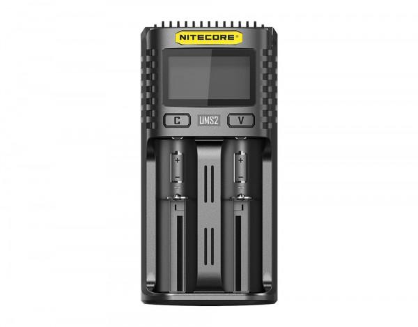 Nitecore USB Lader UMS2 Ladegerät