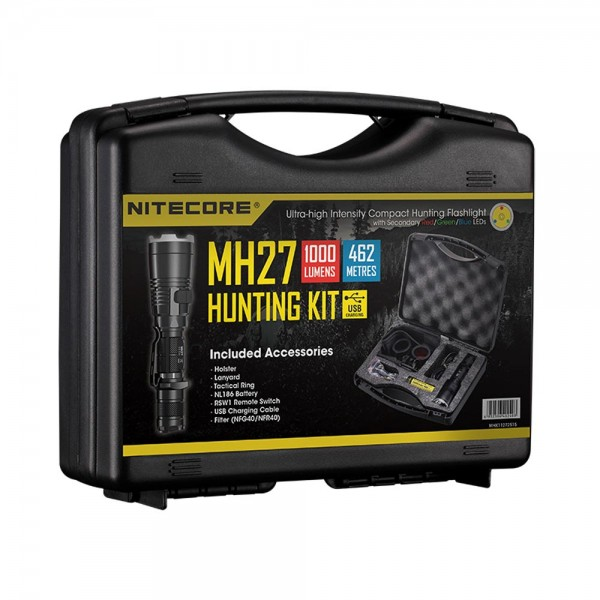 Nitecore Hunting Set MH27