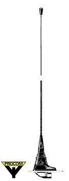 Procom MH1-CXP4R 2 m Auto Antenne