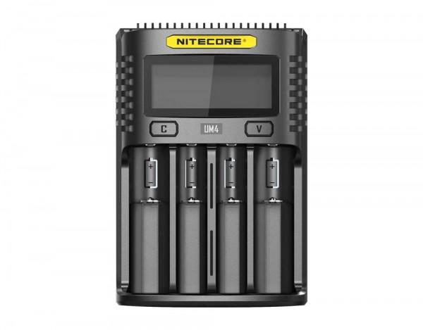Nitecore USB Lader UM4 Ladegerät