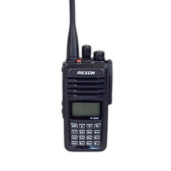 Rexon RL-D800K Handfunkgerät UHF 70 cm DMR mit Volltastatur